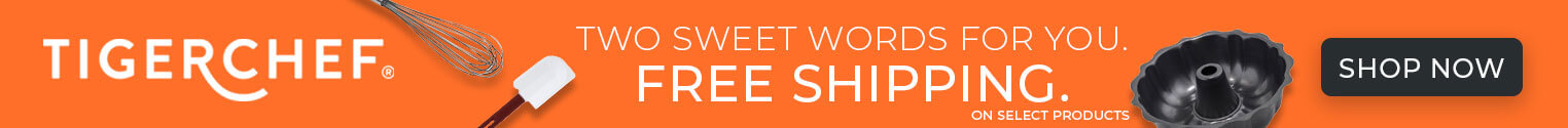 Two sweet words. Free shipping. On select products